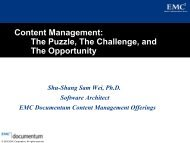 Content Management: The Puzzle, The Challenge, and The ...