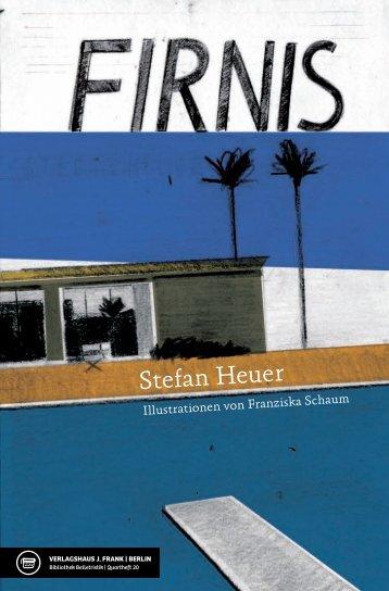 Stefan Heuer - Verlagshaus J. Frank