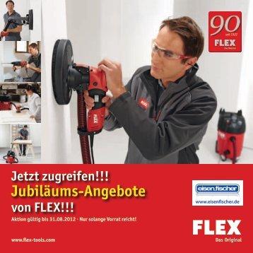 Jubiläums-Angebote - Eisen-Fischer GmbH
