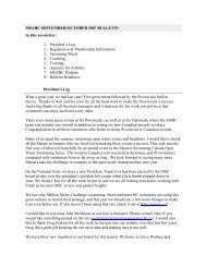 September/October 2007 - Masters Swimming Association of British ...