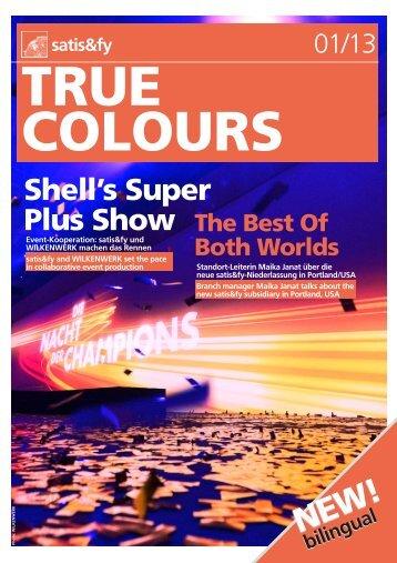 True Colours - Satis & Fy