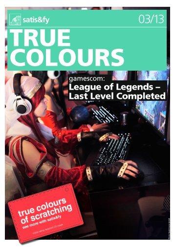True Colours 25 - Satis & Fy