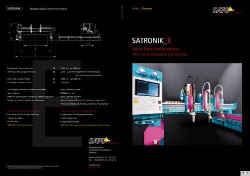 SATRONIK_E - Sato