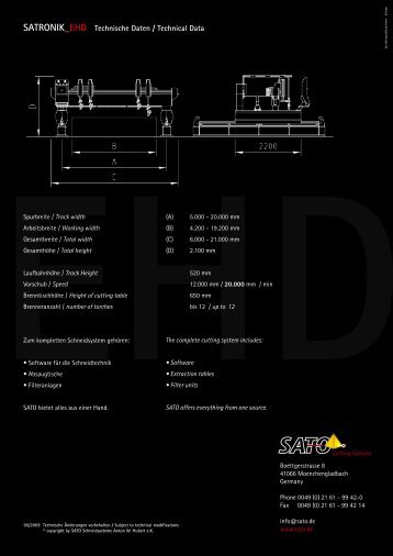 Download PDF SATRONIK_EHD Folder - Sato