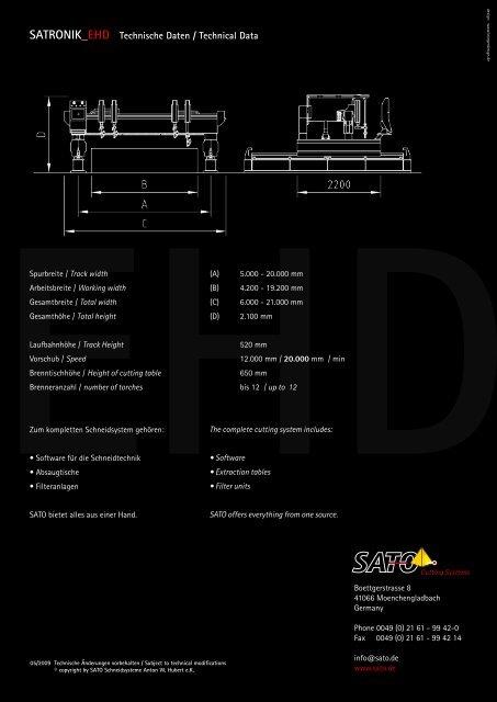 Download PDF SATRONIK_EHD Folder - Sato