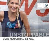 BMW Motorrad Style Catalogo 2012 - BMW Motorrad Schweiz