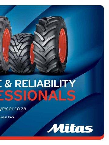 ormance & reliability - SA TREADS