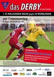 das DERBY - FC Rielasingen-Arlen