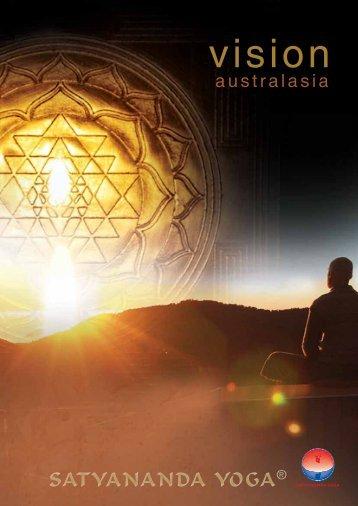 Vision Australasia Booklet - Satyananda Yoga