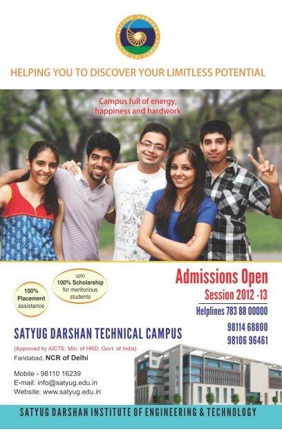B.Tech. - Satyug Darshan Trust