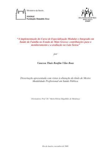 """""""A implementação do Curso de Especialização Modular e Integrado ..."""