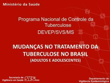 Mudanças no tratamento da TB