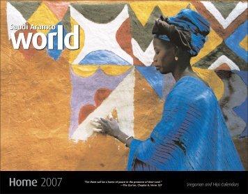 Home 2007 - Gregorian and Hijri Calendars - Saudi Aramco World