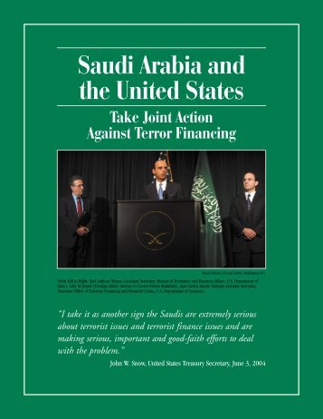 Saudi Arabia and the United States Take Joint Action Against Terror ...