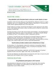 December 30, 2008 - Saudi Arabia