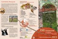 Veranstaltungsprogramm 2013 - Sauerländer Heimatbund e.V.