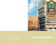 History and Government - Saudi Arabia