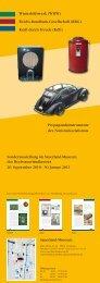 Propagandainstrumenten - Sauerland-Museum