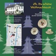 Flyer_Oh du schöne Weihnachtszeit - Sauerland-Museum