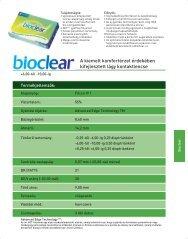 Biocl bellap: Klinikai vizsgálat