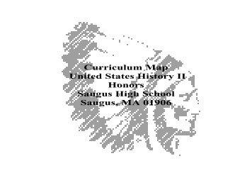 Curriculum Map World History II Honors Saugus High School ...