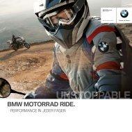 BMW Motorrad Ride 2012 - Katalog - BMW Motorrad Schweiz