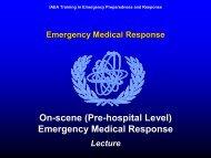 Module VI3 Emergency Medical Response