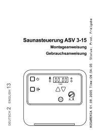 Anleitung ASV3-15