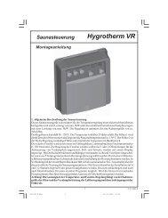 Hygrotherm VR