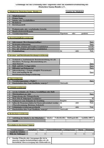 Anforderungsformular für Hersteller und Händler