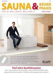 Ausgabe 3/2013 - Deutscher Sauna-Bund e.V.
