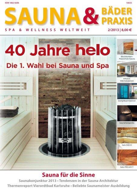 40 Jahre - Deutscher Sauna-Bund e.V.