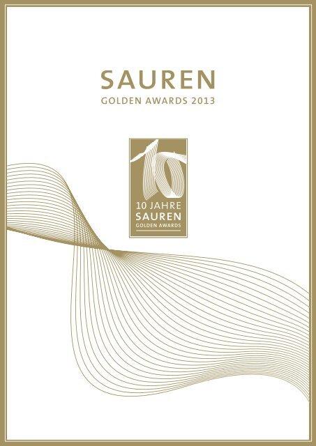 Sauren Golden Awards 2013 [PDF]