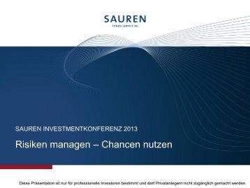Präsentation: Einleitung & Philosophie - Sauren