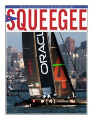 Squeegee Spring 2013 - Sausalito Yacht Club
