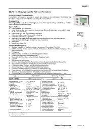 EQJW 145: Heizungsregler für Nah- und Fernwärme (7144440001)