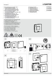 EY-RU341 EY-RU344 EY-RU346 1 2 IP30 - sauter-controls.com ...