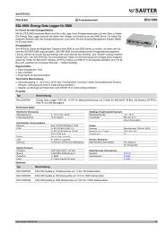 EDL1000 EDL1000: Energy Data Logger für EMS - sauter-controls ...