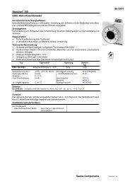 Aktiv-Potentiometer - sauter-controls.com sauter-controls.com