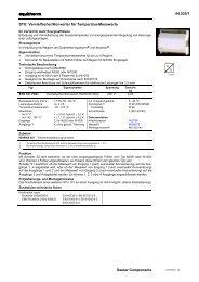 44.535/1 Sauter Components STU: Vervielfacher/Konverter für ...