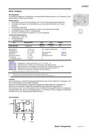 65.025/1 Sauter Components RPJP: PI-Relais