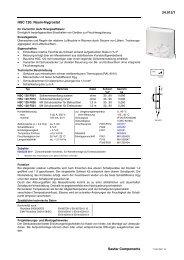 HSC 120 - sauter-controls.com sauter-controls.com