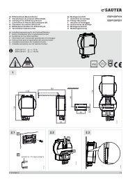 EGP100F101 EGP100F201 1 2 3 A B - sauter-controls.com sauter ...