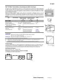 67.320/1 RLP 10 F902: Transmetteur pneumatique de débit ...