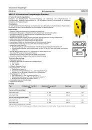 ASV115: VAV Kompaktregler Standard - Sauter