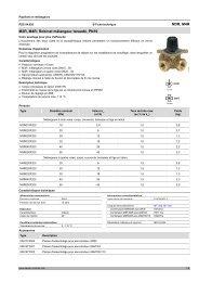M3R, M4R: Robinet mélangeur taraudé, PN 10 - sauter-controls.com ...