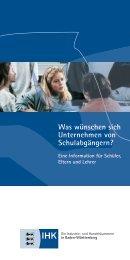 Infoblatt für Schüler - Sauter Cumulus GmbH
