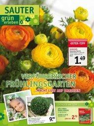 OSteR-tipp - SAUTER grün erleben - sauter-gartenbau.de
