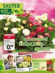 Frühlings- grüsse - SAUTER grün erleben - sauter-gartenbau.de