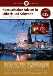 Hanseatischer Advent in Lübeck und Schwerin - Leserreisen
